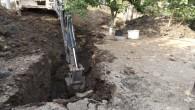 Kırıkhan ilçesinde çöken Kanal hattı yenilendi