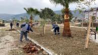 Küçükdalyan Mahallesindeki Park yapım çalışmaları devam ediyor