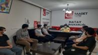 Saadet Partisi Hatay İl Gençlik Kolları Başkanı Gökhan Savran: Öğretmenler sınıfında güzeldir!