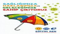 Samandağ Eğitim Sen'den Türkiye genelinde imza kampanyası