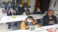 Down Sendromlu Öğrencilerden Mozaik Çalışması