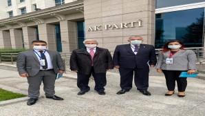 Yeloğlu ve Yılmaz Ak Parti Genişletilmiş İl Başkanları toplantısına katıldı