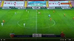 Atakaş Haktayspor Kayseri deplasmanından 3 puanla döndü: 1-0