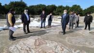 Vali Doğan Arsuz ilçesindeki  Kazı Alanını İnceledi