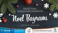 Başkan  Savaş'tan Noel Bayramı mesajı