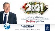 Antakya Belediye Başkanı İzzettin Yılmaz'dan Yeni Yıl Mesajı: 2021 yılında tüm Dünyaya sağlık, huzur ve mutluluk temenni ediyorum