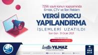 Emlak, ÇTV ve İlan Reklam vergileri için yapılandırma süresi uzatıldı