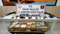 Dörtyol ve Hassa ilçelerinin kırsalında PKK'ya operasyon: Araziye gizlenmiş silah ve yaşam malzemeleri yakalandı