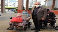 İskenderun Belediye Başkanı Tosyalı'dan engellilere akülü araç