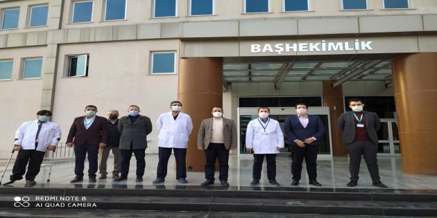 Hatay İl Sağlık Müdürü Mustafa Hambolat Kırıkhan Devlet Hastanesi'nin Hizmetlerini Yerinde İnceledi