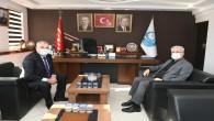 AK Parti Hatay İl Başkanı Mehmet Yeloğlu'ndan Antakya Belediye Başkanı İzzettin Yılmaz'a ziyaret