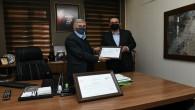 Antakya Belediyesine sıfır atık belgesi