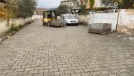 Hatay Büyükşehir Belediyesi parke  çalışmalarını Erzin ilçesinde sürdürdü