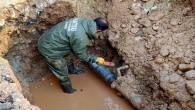 HAT SU Acil müdahale etti, su kaybını önledi
