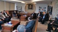 Anadolu Gençlik Derneği Başkanı Turhan'dan Çalışkan ailesine taziye ziyareti