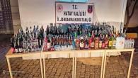 226 Şişe ile 225 litre kaçak içki yakalandı