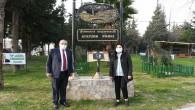 Başkan Yılmaz, Kışlasaray Mahallesi Atatürk Parkında incelemelerde bulundu