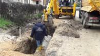 Hatay Büyükşehir Belediyesi yağmursuyu kanallarını döşemeye devam ediyor