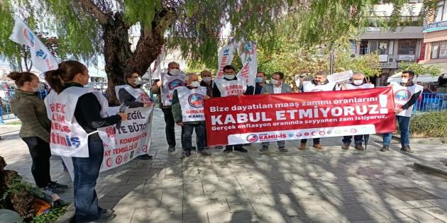 Eğitim-İş Şube Başkanı Mustafa Günal: Tüm kamuoyunu ve emekçileri sefalet oranlarına karşı birlikte hareket etmeye çağırıyoruz!