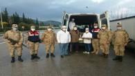 Başkan Yılmaz'dan kontrol noktalarındaki Polis ve Jandarmalara jest