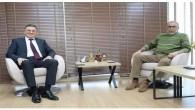 Başkan Çirkin'den Başkan Savaş'a taziye ziyareti
