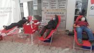 Dörtyol Gazeteciler Cemiyeti'nin 9 Ocak anısı kan bağışı kampanyası yoğun ilgi gördü