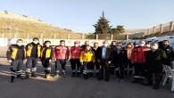 Hatay İl Sağlık Müdürü Dr. Mustafa Hambolat, Reyhanlı'da incelemelerde bulundu