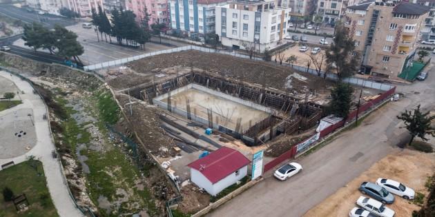 Antakya Belediyesi, Gençleri Su Sporları ile buluşturacak  tesisi inşa ediyor