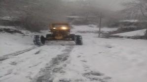 Hatay Büyükşehir Belediyesi Karla mücadele çalışmalarını başlattı