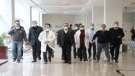 Sağlık Müdürü Dr. Hambolat'tan aşı denetlemesi