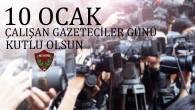 Atakaş Hatayspor Kulübünden  10 Ocak kutlaması