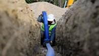 HAT SU Samandağ'ındaki 9 Mahalleye temiz su iletecek şebeke inşaatını sürdürüyor