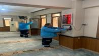 Antakya Belediyesi İbadethaneleri temizlemeyi sürdürüyor