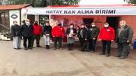 Antakya Defne Rotary Kulübünden kan bağışı