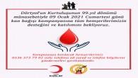 Dörtyol'lu Gazetecilerden 9 Ocak'a özel kan bağışı kampanyası