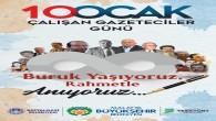 Malatya'da vefat eden Gazeteciler bilbordlarda anıldı