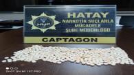 Antakya'da 508 adet Captagon yakalandı