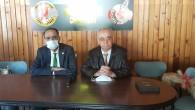 Defne Belediye Başkanı İbrahim Güzel'den Antakya Gazeteciler Cemiyeti'ne ziyaret