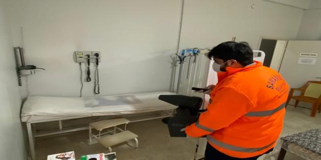 Samandağ'da Dezenfekte çalışmaları aralıksız sürüyor