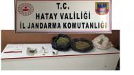 Samandağ Janadarmasından uyuşturucu tacirlerine operasyon;  2.150 gram kubar esrar yakalandı