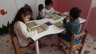 Samandağ Belediyesi'nin Kreş ve Gündüz Bakımevi'nde eğitime kaldığı yerden devam