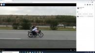 Otoban yarışan motorsikletçilere  7426 lira para cezası