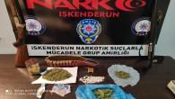İskenderun'da Polis uyuşturucu tüccarlarına  operasyon düzenledi: 4 kişi yakalandı