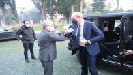 İrlanda Dışişleri ve Savunma Bakanı Coveney Hatay Valisi Rahmi Doğan'ı ziyaret etti