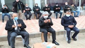 Vali Doğan'dan Başkan Hacıoğlu'na  Taziye ziyareti