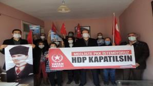 Vatan Partisi İl Başkanı Yıldırım: PKK'nın siyasi uzantısı HDP kapatılmalıdır!
