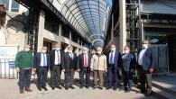 Ak Parti Milletvekilleri Ve Belediye Başkanları  Uzun Çarşı Restorasyon Projesinde İncelemelerde Bulundu