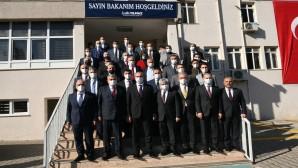 Adalet Bakanı Abdulhamit Gül Antakya Belediyesini ziyaret etti