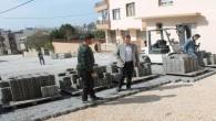 Samandağ Belediye Başkanı Refik Eryılmaz çalışmaları yerinde inceledi