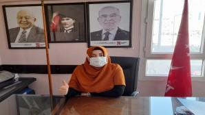 SP Hatay kadınlar kolları Başkanı Çiçek: Bir Damla tasarruf ile geleceğinize su taşıyın!